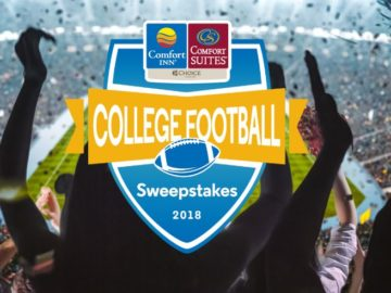 Choice Hotels Comfort College Football Sweepstakes