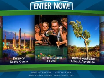 Win a Trip to One of Five Destinations!
