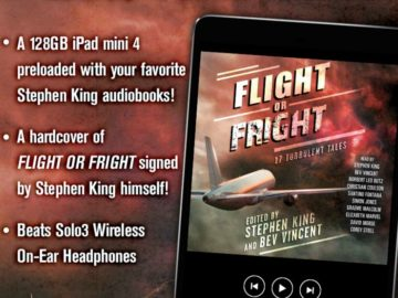 Simon & Schuster Flight or Fright Sweepstakes