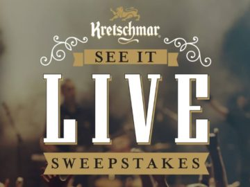 Kretschmar See It Live Sweepstakes