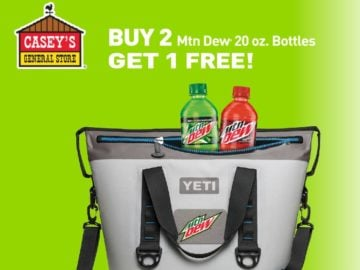 Mountain Dew Yeti-A-Day Giveaway (Limited States)