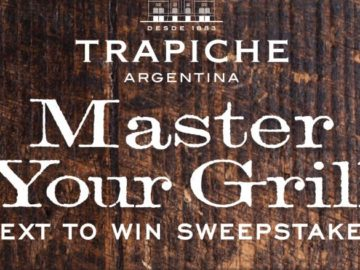 Trapiche Master Your Grill Sweepstakes