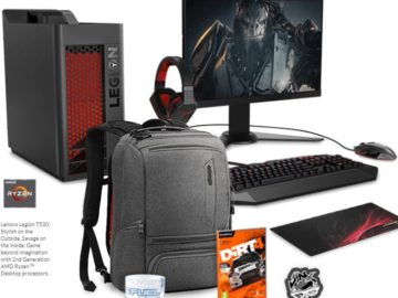 Lenovo – Game On: Legion Power Instant Win