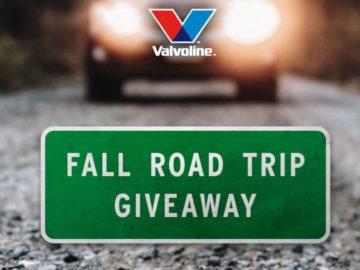 Valvoline Fall Road Trip Sweepstakes