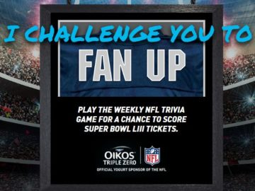 Oikos NFL Season Sweepstakes