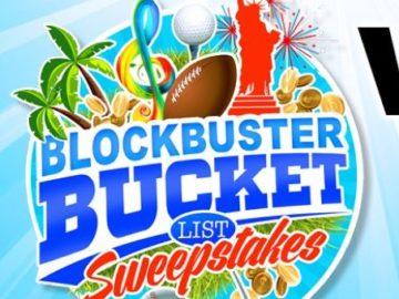 GateHouse Media Blockbuster Bucket List Sweepstakes