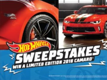 Hot Wheels Chevrolet Sweepstakes