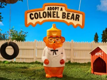 KFC'S Adopt A Colonel Bear Giveaway