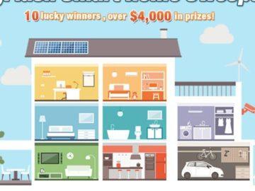 NeweggFlash Smart Home Sweepstakes