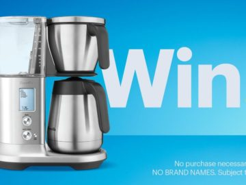 Best Buy Small Appliance Coffee Sweepstakes (Twitter)