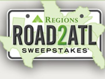 2018 Regions Bank #road2ATL Sweepstakes