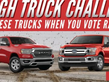 Win a Ford or Dodge Truck!