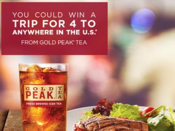 "Gold Peak ""The Taste that Brings You Home"" at Golden Corral Sweepstakes"