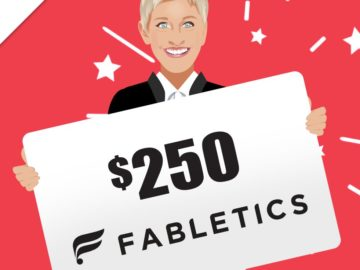 Win a $250 Fabletics Gift Card!