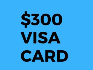 Win a $300 Visa Gift Card from American Road