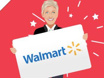 Ellen's $1,000 Walmart Giveaway