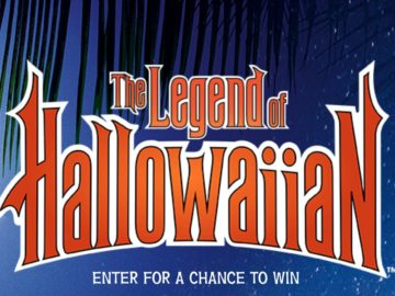 Legend of Hallowaiian Instant Win Game and Sweepstakes (Code)