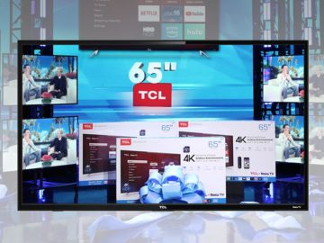 Win a TCL 65″ Roku TV!