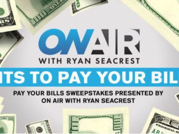 Ryan Seacrest's Pay Your Bills Sweepstakes 3