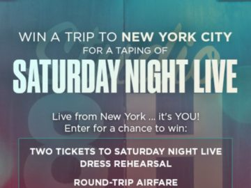 Saturday Night Live Sweepstakes