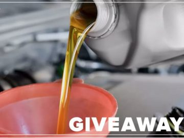 CNET Roadshow's Oil Change Sweepstakes