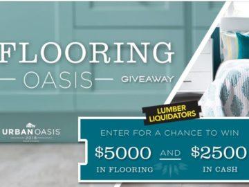 DIY Network Flooring Oasis Giveaway