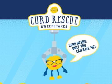 Culver's Curd Rescue Sweepstakes