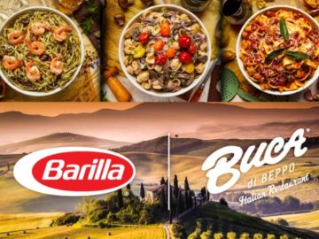 Buca di Beppo National Pasta Month Sweepstakes