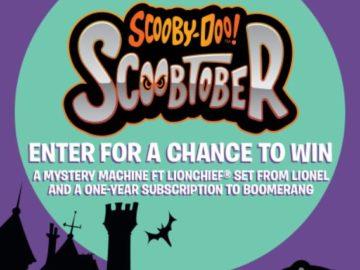 Warner Brothers Kids Scoobtober Sweepstakes
