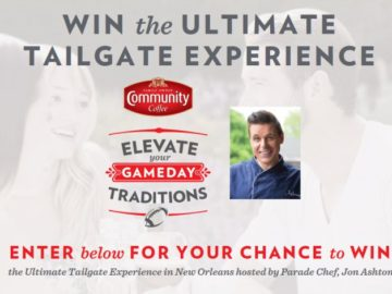 Community Coffee Elevate Your Game Day Instant Win Game & Sweepstakes