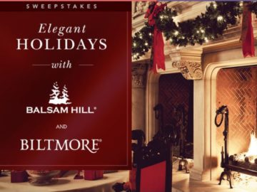 Elegant Holidays with Balsam Hill and Biltmore Sweepstakes