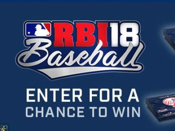 R.B.I. Baseball 18 Postseason Sweepstakes