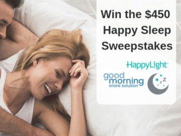 Happy Sleep Sweepstakes