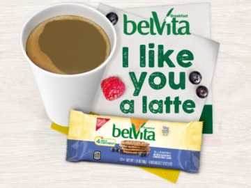 "BelVita Breakfast ""I Like You a Latte"" Sweesptakes"
