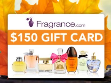 $150 Fragrance Gift Card Sweepstakes