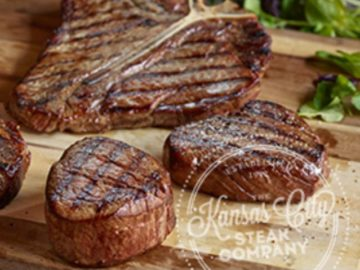 Kansas City Steaks Headed for the Holidays Sweepstakes