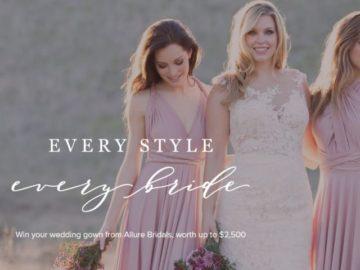Allure Bridal Instagram Sweepstakes
