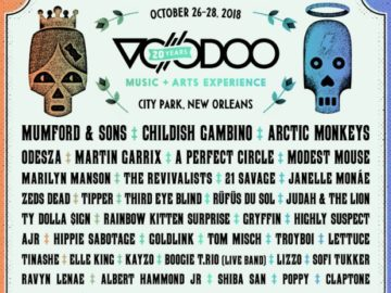 Voodoo Music + Arts Experience Ultimate VIP Flyaway Sweepstakes