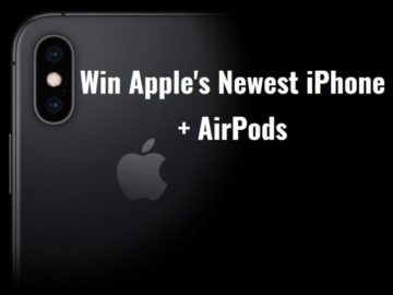 Win an Apple iPhone Xs + AirPods