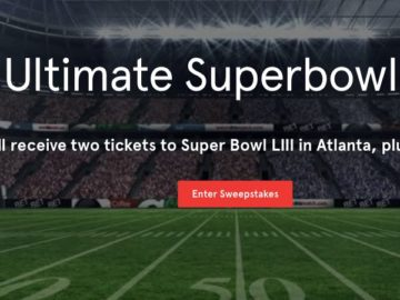 Momentous Ultimate Super Bowl Experience Sweepstakes