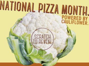 California Pizza Kitchen – My Life Powered by Cauliflower Sweepstakes