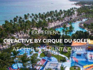 "Club Med & Cirque du Soleil ""Get Creactive"" Sweepstakes"