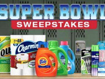 Proctor & Gamble Superbowl LIII Sweepstakes