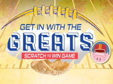 Get in with the Greats Scratch and Win Game
