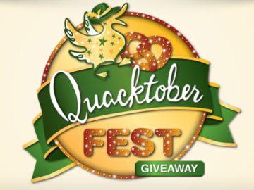 Quacker Factory Quacktober Fest Giveaway