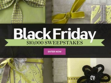 Martha Stewart Black Friday $10,000 Sweepstakes