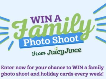 Juicy Juice 2018 Win A Family Photo Shoot Sweepstakes
