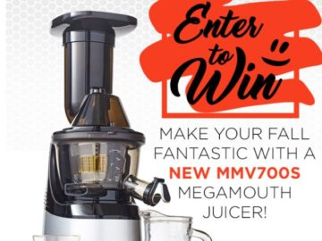 Omega Juicers Win a Juicer Giveaway