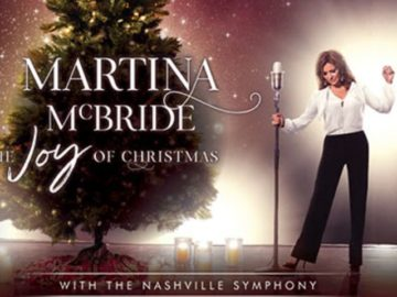 Martina McBride The Joy of Christmas with the Nashville Symphony Sweepstakes