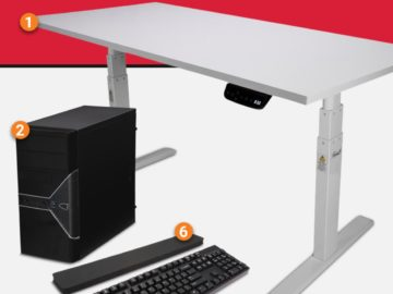 Newegg Sit-Stand Sweepstakes